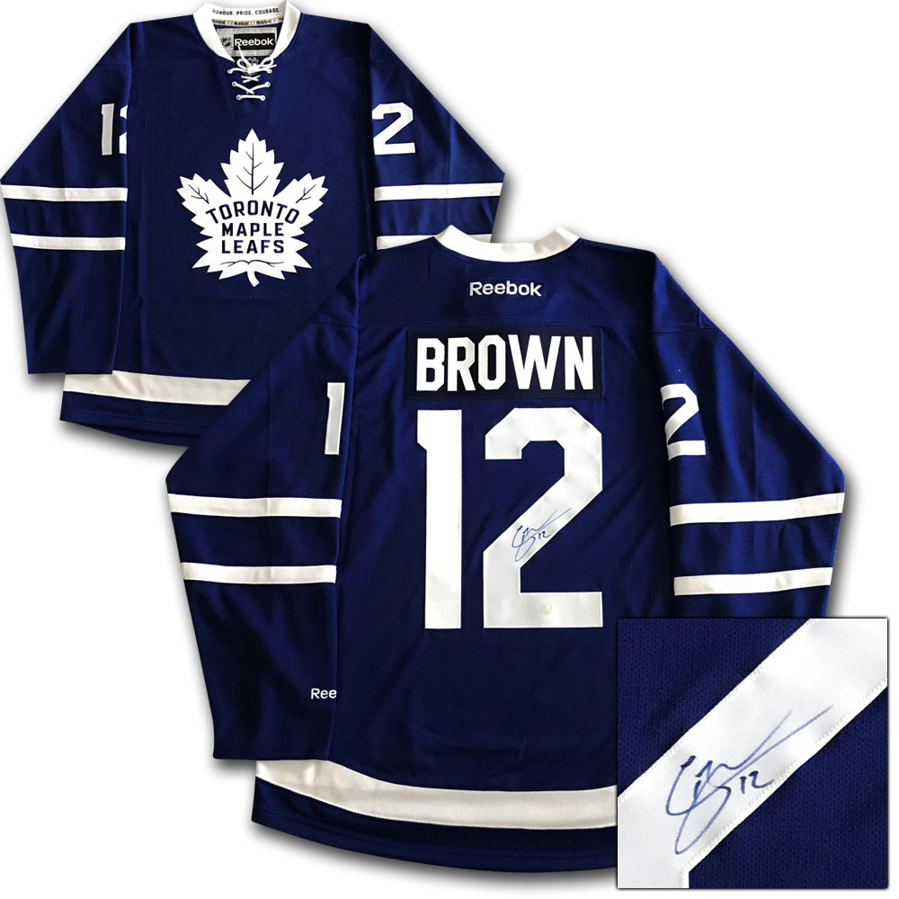 pretty nice 49e1c d9887 Connor Brown Autographed Toronto Maple Leafs Jersey - NHL ...