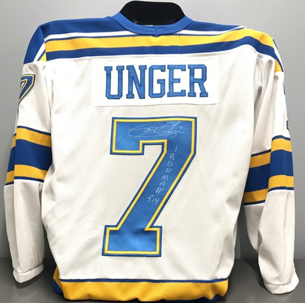 084a9a32c Garry Unger Winter Classic Alumni Game Jersey - NHL Auctions
