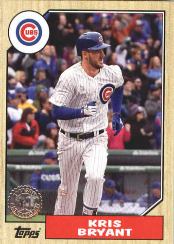 Photo of 2017 Topps Update '87 Topps #US8720 Kris Bryant