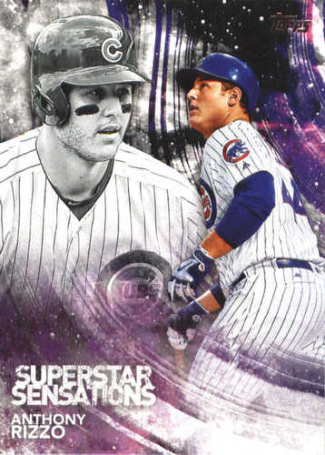 Photo of 2018 Topps Superstar Sensations #SSS44 Anthony Rizzo