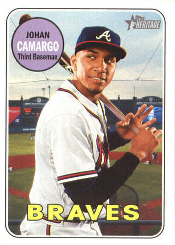 Photo of 2018 Topps Heritage #141 Johan Camargo