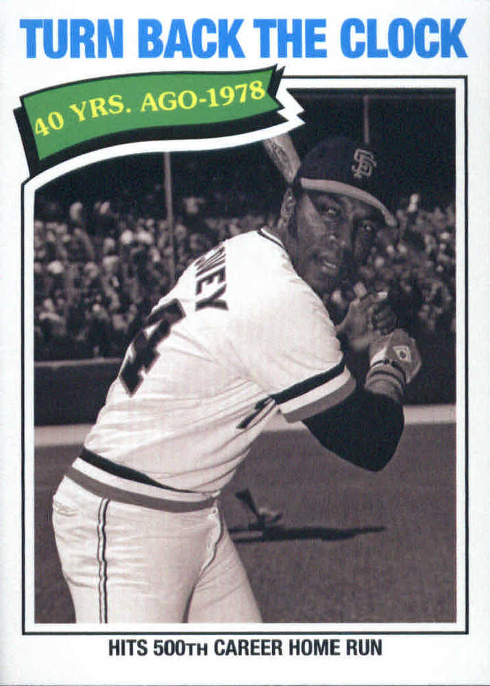 2018 Topps Archives #318 Willie McCovey TBTC