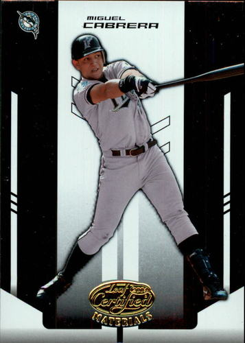 Photo of 2004 Leaf Certified Materials #137 Miguel Cabrera