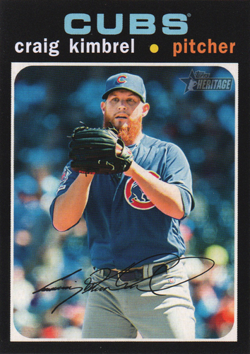 Photo of 2020 Topps Heritage #194 Craig Kimbrel