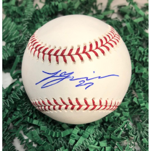 Photo of Lucas Giolito Autographed Baseball