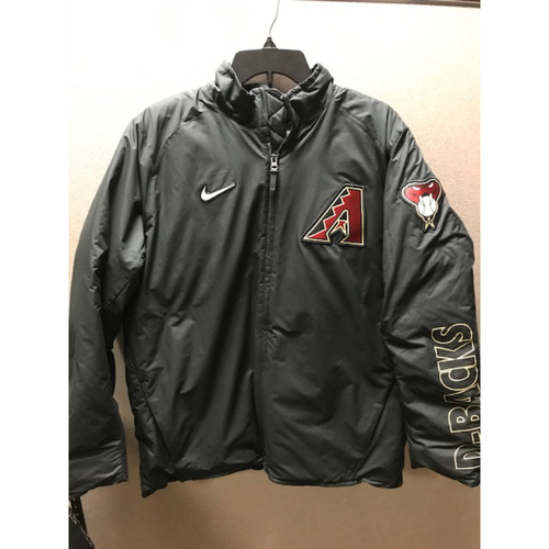 Photo of Luke Weaver 2020 Team-Issued On-Field Jacket (Size Large)