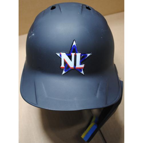 Photo of 2021 MLB All-Star Game -  Game-Used Batting Helmet - Fernando Tatis Jr.