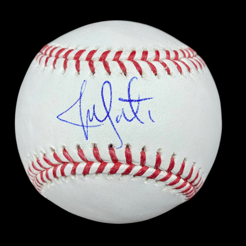 Photo of Jon Lester Autographed Baseball