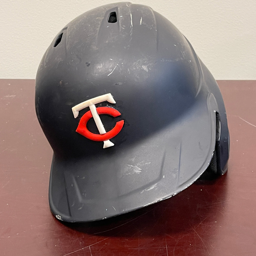 Photo of Minnesota Twins: Game-Used Right Handed Helmet - Mitch Garver - Authenticated for 8 games including 2021 Opening Day