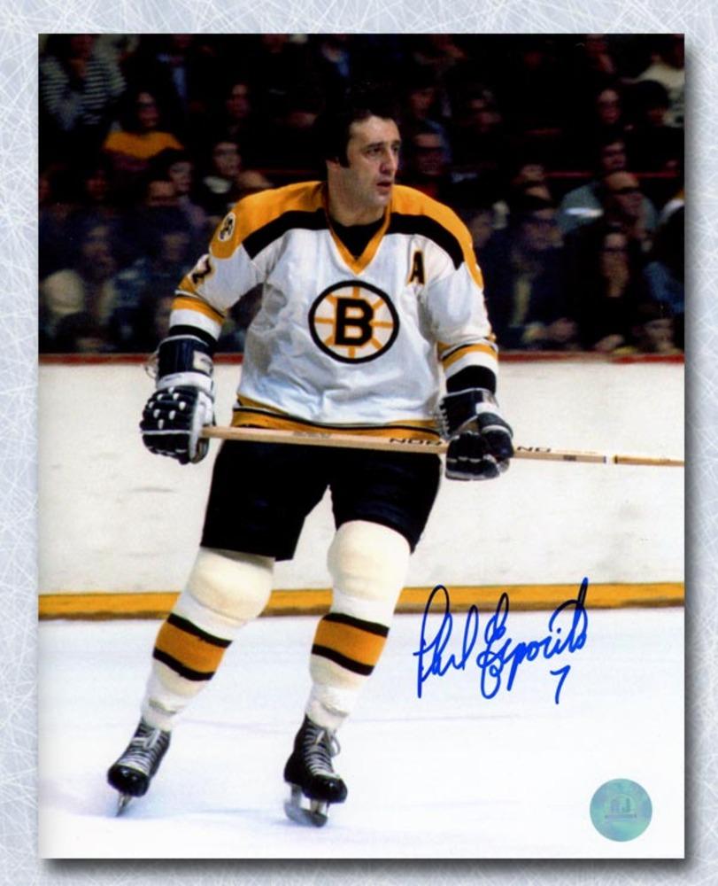 Phil Esposito Boston Bruins Autographed Hockey Legend 8x10 Photo
