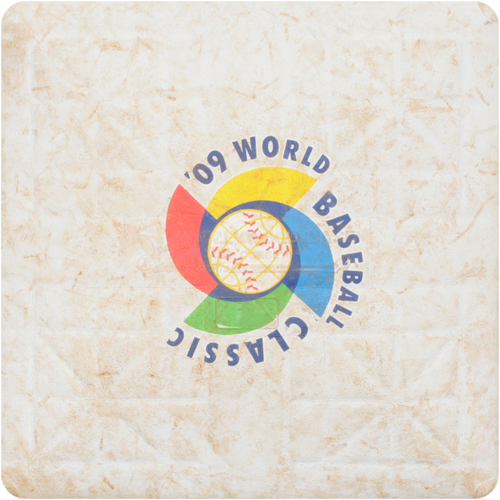 Photo of 2009 WBC: Round 1 - Italy vs. Venezuela Game-Used 2nd Base