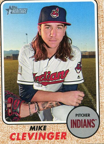 Photo of 2017 Topps Heritage #649A Mike Clevinger