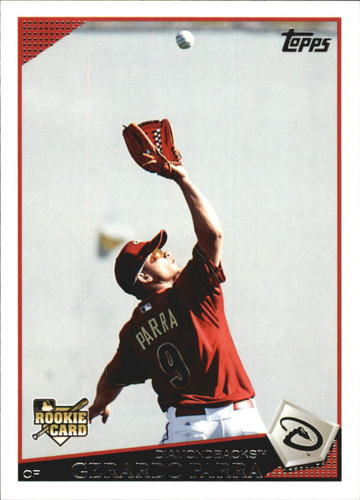 Photo of 2009 Topps Update #UH84 Gerardo Parra Rookie Card