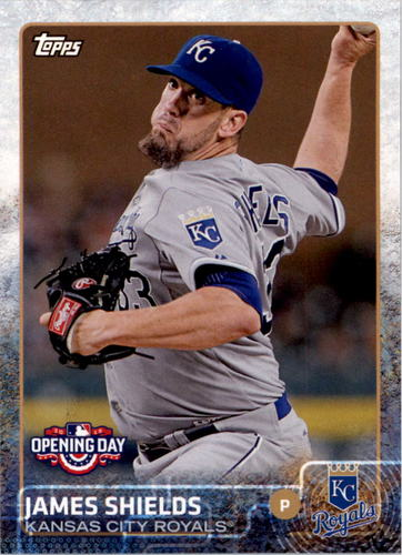 Photo of 2015 Topps Opening Day #69 James Shields