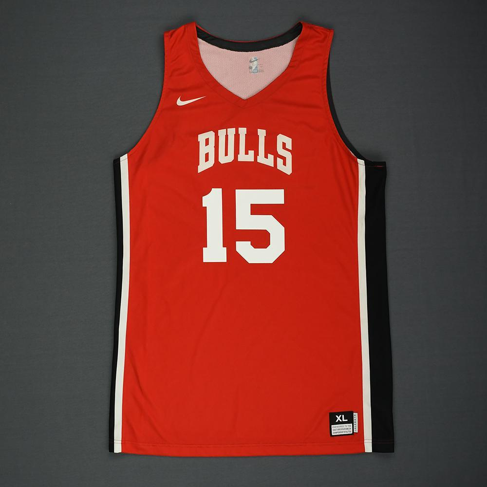 Chandler Hutchison - Chicago Bulls - 2018 NBA Summer League - Game-Worn Jersey