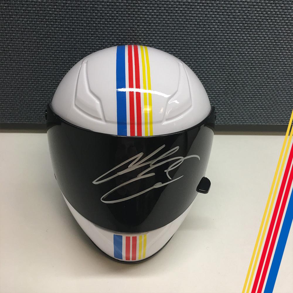 NASCAR's Chase Elliott Autographed mini helmet!