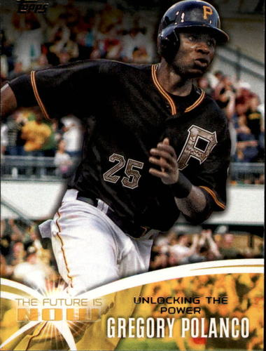 Photo of 2014 Topps The Future is Now #FNGP3 Gregory Polanco UPD