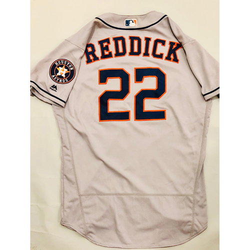 Photo of 2019 Mexico Series - Game-Used Jersey - Josh Reddick, Houston Astros at Los Angeles Angels - 5/4/19
