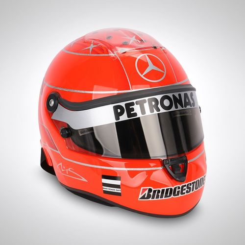 Photo of Michael Schumacher 2010 Replica Helmet