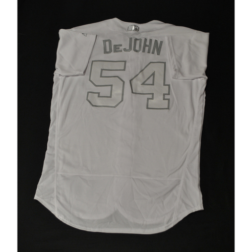 "Photo of Jeff ""DeJOHN"" Albert St. Louis Cardinals Game-Used 2019 Players' Weekend Jersey"