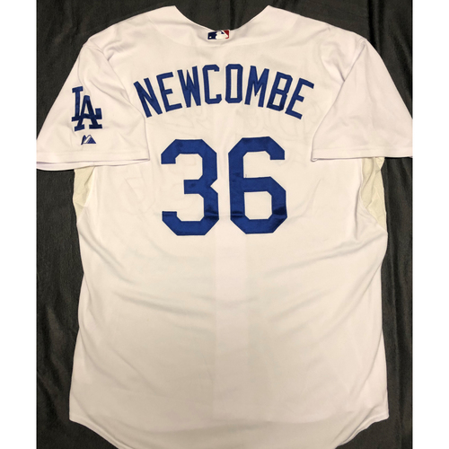 Photo of Don Newcombe Los Angeles Dodgers Jersey