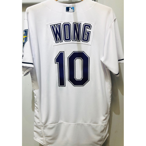 Photo of 2018 Team Issued Devil Rays Jersey: Kean Wong (size 44)