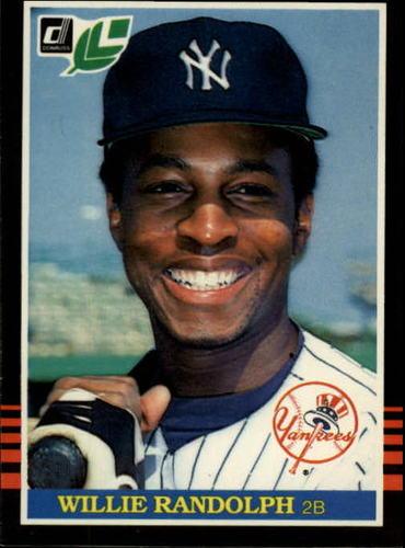 Photo of 1985 Leaf/Donruss #83 Willie Randolph