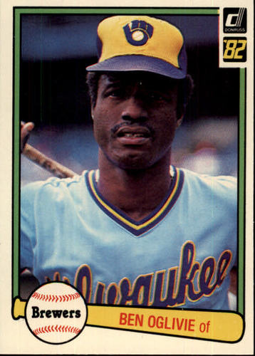 Photo of 1982 Donruss #484 Ben Oglivie