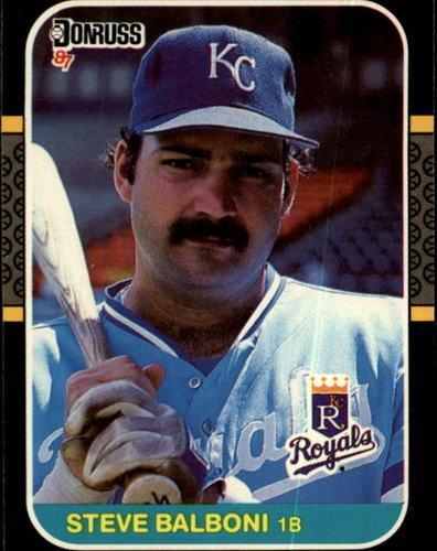 Photo of 1987 Donruss #102 Steve Balboni