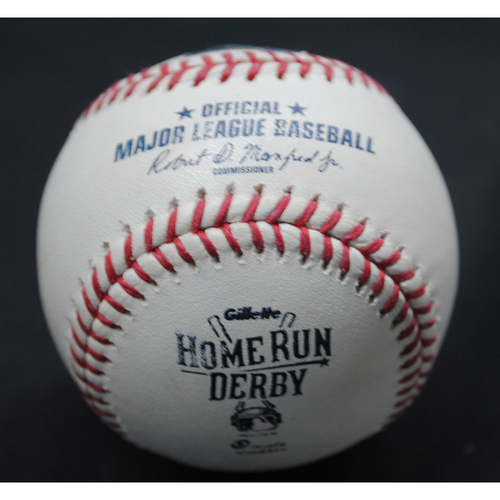 Photo of 2015 All Star Game Home Run Derby (07/13/15) - Game-Used Baseball - Albert Pujols - Round 1, Out