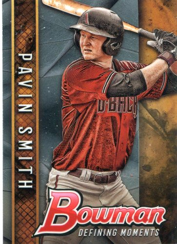 Photo of 2017 Bowman Chrome Draft Defining Moments #BDMPS Pavin Smith