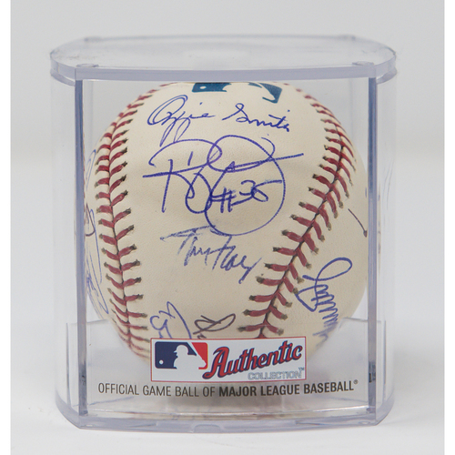 Photo of All-Time Padres Players Autographed Baseball (NOT MLB AUTHENTICATED)