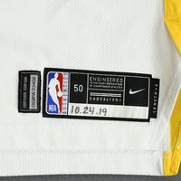 Eric Paschall - Golden State Warriors - Game-Worn Association Edition Rookie Debut Jersey - Opening Night 2019-20 Season