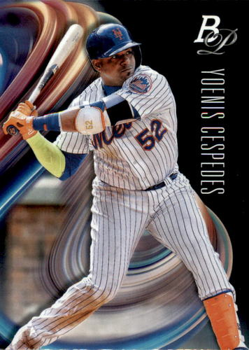 Photo of 2018 Bowman Platinum #57 Yoenis Cespedes