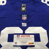 Crucial Catch - Giants Evan Engram Game Used Jersey 10.8.17 Size 42