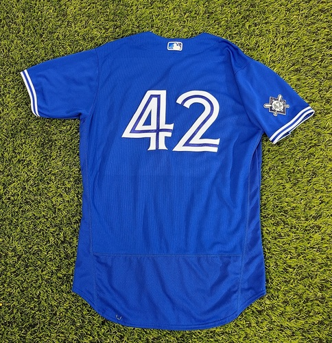 Photo of CHARITY AUCTION: Authenticated Team Issued #42 Jersey: Dante Bichette (2020 Season). Size 46.