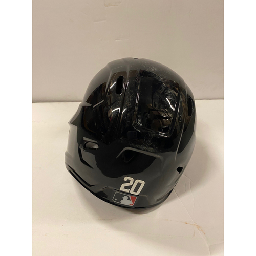 Photo of 2020 Silver Slugger: Marcell Ozuna Game Used Home Postseason Helmet - 8/26/20 Home Run, 10/1/20 Wild Card