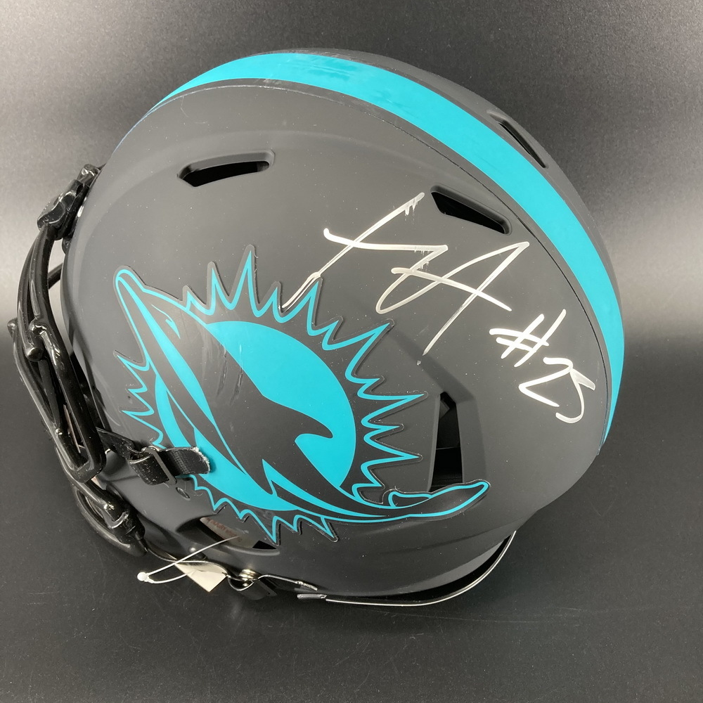 NFL - Dolphins Eclipse Helmet Signed by Xavien Howard