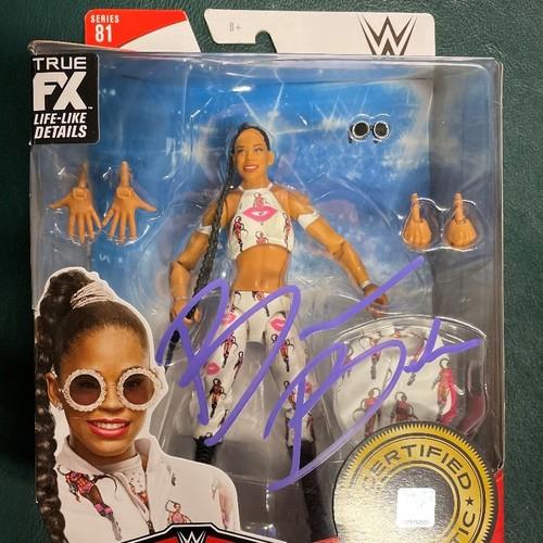 Photo of Bianca Belair SIGNED WWE Elite Series 81 Action Figure