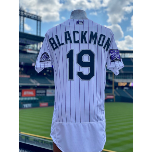 Photo of 2021 Game-Used Charlie Blackmon Jersey - 6 games, 9 hits, 2 Walk-Off's, 2 Home Runs, 9 RBI's