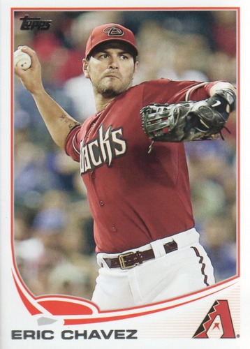 Photo of 2013 Topps Update #US95 Eric Chavez