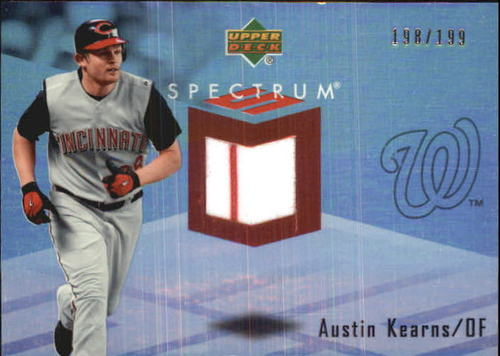 Photo of 2007 Upper Deck Spectrum Swatches #AK Austin Kearns
