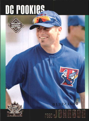 Photo of 2002 Upper Deck Diamond Connection #99 Reed Johnson DC RC