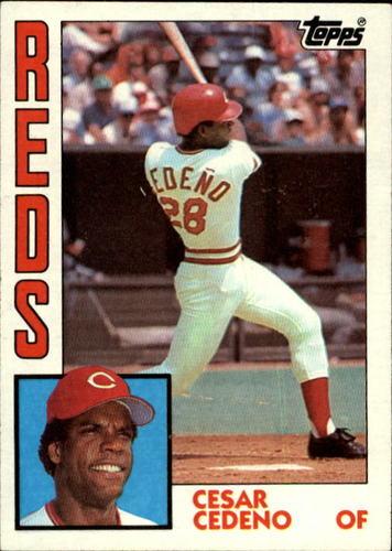 Photo of 1984 Topps #725 Cesar Cedeno