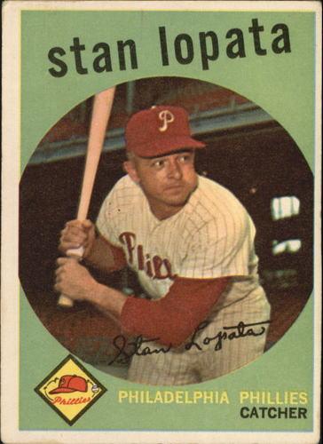Photo of 1959 Topps #412 Stan Lopata