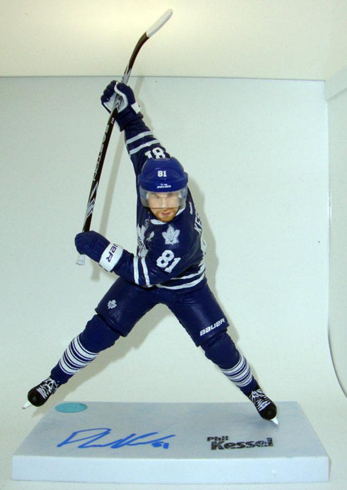 Phil Kessel Autographed Toronto Maple Leafs McFarlane Figure