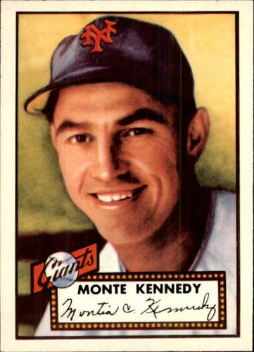 Photo of 1983 Topps 1952 Reprint #124 Monte Kennedy