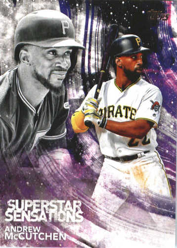 Photo of 2018 Topps Superstar Sensations #SSS46 Andrew McCutchen