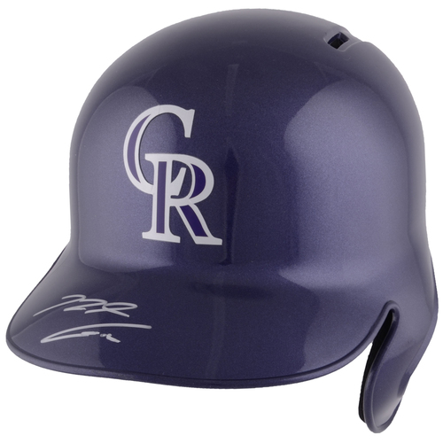 Photo of Nolan Arenado Colorado Rockies Autographed Replica Batting Helmet