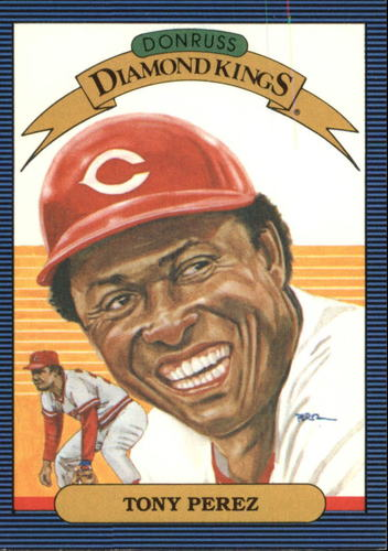 Photo of 1986 Leaf/Donruss #15 Tony Perez -- Hall of Fame Class of 2000